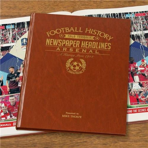 Personalised Arsenal Football Book